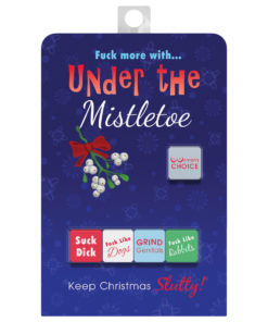 Under The Mistletoe Dice Sex Game