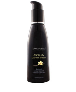 Wicked Aqua Vanilla Bean Lubricant 4oz