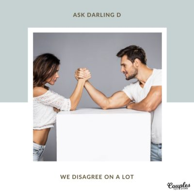 We Disagree On A Lot