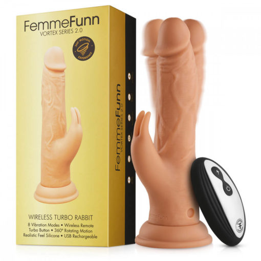 Femme Funn Wireless Turbo Rabbit Nude with box
